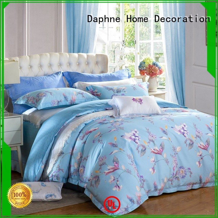sheet patterned sophisticated 100 cotton bedding sets Daphne Brand