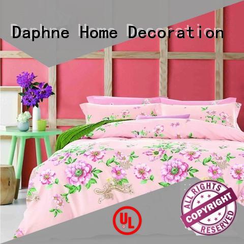 Daphne Brand plaid blossom Cotton Bedding Sets print stylish